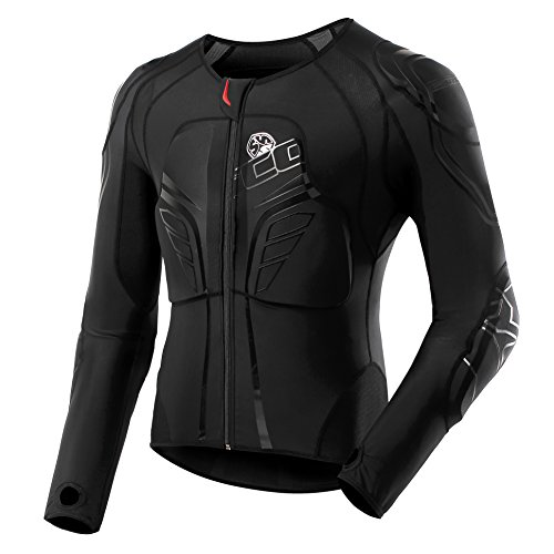 SCOYCO Motorbike Racing Body Armor Riding Motorcycle Protective Gear Absorbent Slow Rebound Breathable Motocross Stretch Jacket ()