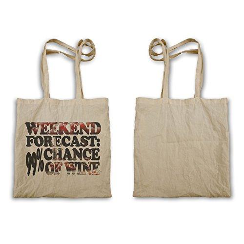 Wochenendvorhersage Chance Wine Tragetasche u462r