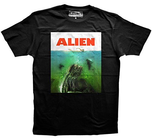 XENOMORPH JAWS t-shirt, Aliens t-shirt, Alien Covenant, Movie t-shirt, Sci-fi (Aliens Soft T-shirt)