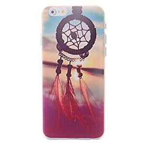 SOL Cartoon Dream Catcher Pattern Embossment Back Case for iPhone 6