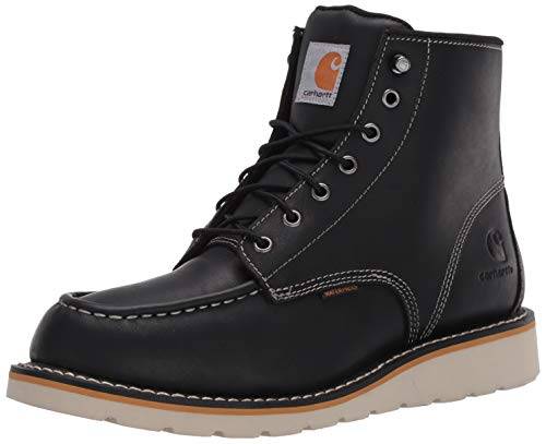 Carhartt Men's 6-Inch Waterproof Wedge Soft Toe Work Boot