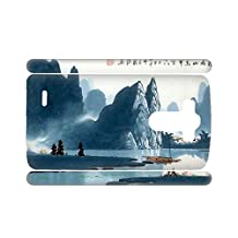 Generic Print Asian Chinese Painting 1 Flip Phone Case For G3 Lg Optimus For Womon Rigid Plastic