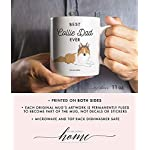 Best Collie Dad Ever Coffee Mug Gift Idea Father Daddy Loves Brown Tan Collie Family Pet Dog Shelter Adoption Animal Rescue 11oz Ceramic Tea Cup Christmas Birthday Present by Digibuddha DM0498 5