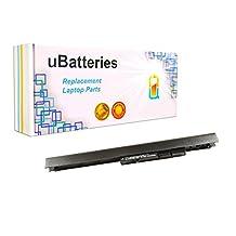 UBatteries Laptop Battery HP Compaq 15-R100 15-R200 15T-R000 15Z-G000 240 G2 240 G3 OA04 OA03 HSTNN-LB5Y HSTNN-LB5S HSTNN-PB5Y 740715-001 746458-421 746641-001 751906-541 741727-001 - 4 Cell, 2200mAh