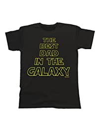 The Best DAD In The Galaxy T-Shirt Mens Father Shirt