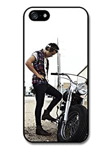 Harry Styles Motorbike 1D One Direction case for iPhone 5 5S A1316 by icecream design