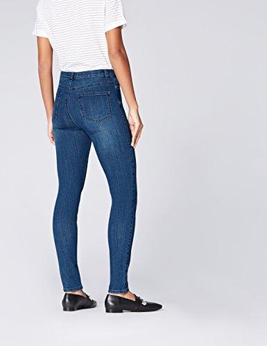Regular mid Blu Vita Find Jeans Skinny Wash Donna OWxtqnfawH