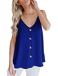 CASILY - Camisa Blusa para Mujer, Talla Grande.