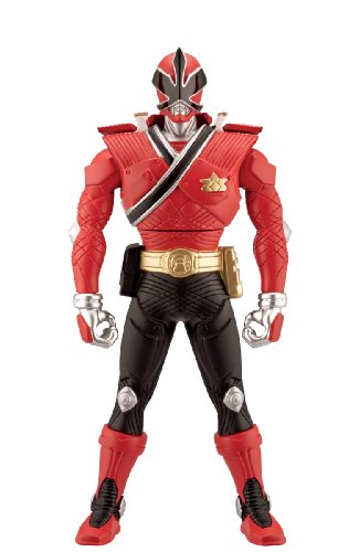 [Power Rangers 6.5inch Morphin Figure Red Ranger with Action] (Mega Morph Suits)