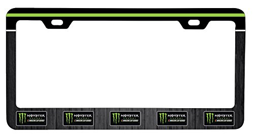 Nascar Monster energy drink #88 Metal License Plate Frame (Car Accessories Nascar Gear)
