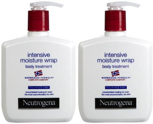Neutrogena Norwegian Formula Intensive Moisture Wrap Body Treatment, Fragrance Free, 10.5 oz, 2 ()