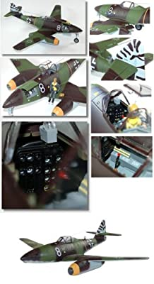 Model Aircraft ME 262A-1A (1:18th Squadron - Admiral Toys) 2 Feet Wide Wing Span