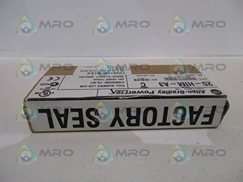 Allen Bradley POWERFLEX 20-HIM-A3 SER. C F/W 6.001 Date: 2014 Factory Sealed