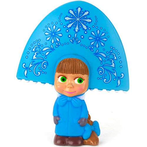 (Russian Toys Masha Snow Maiden from Cartoon Masha and The Bear Baby Bath Toy for Bathroom)