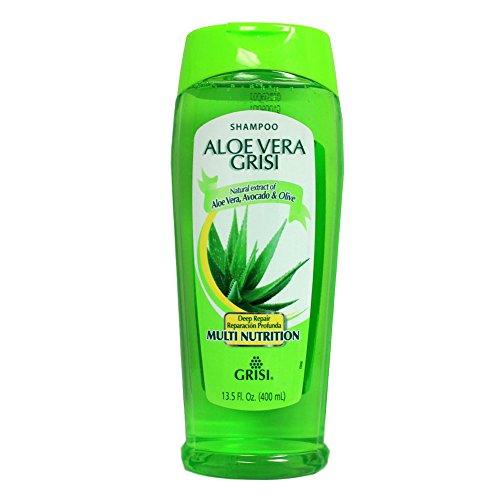 - Aloe Vera Grisi Shampoo| Moisturizing Shampoo with Aloe Vera Extract, Paraben Free Hair Product for Soft and Shiny Hair; 13.5 Fl Ounces