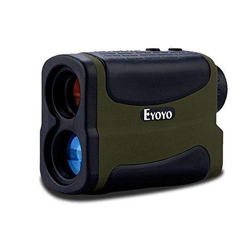 Eyoyo Golf Rangefinder 5-1000 Yard – Waterproof 6X Precision Distance Speed Range finder Binoculars Measurer for Tour Hunting
