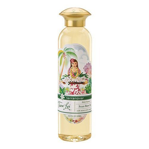 Body Lei (Terranova Tiare Lei Silky Body Oil with Monoi Oil and Noni, 8.25 Ounce by TerraNova)