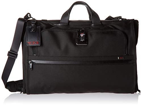 - TUMI - Alpha 3 Garment Bag Tri-fold Carry-On Luggage - Dress or Suit Bag for Men and Women - Black