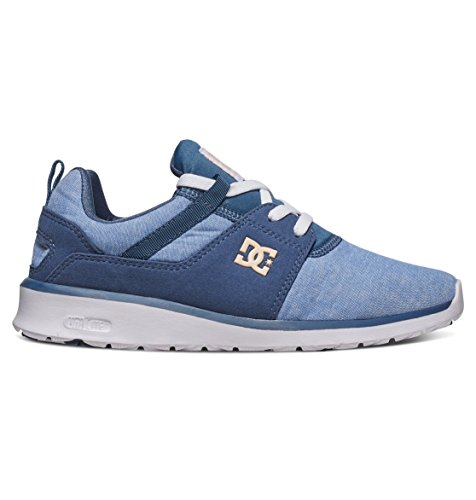 Bleu Baskets Shoes Basses DC Navy Se Femme White Heathrow Ywdqtqv