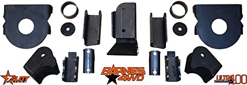 Barnes 4wd B4wk0240 Jeep Tj Rear Axle Brackets