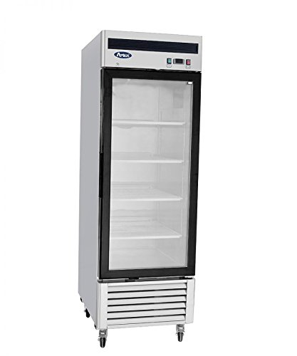 NEW COMMERCIAL 1 GLASS DOOR FREEZER
