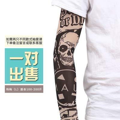 JinRui-Sport Mangas tatuadasManga del Tatuaje del Brazo de la Flor ...