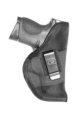Crossfire Elite GRPCLPSA1S-2 Grip Clip Sub-Compact Ambidextrous Semi-Auto Holster, Left/Right Hand, Black