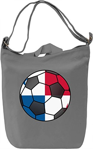 Panama Football Borsa Giornaliera Canvas Canvas Day Bag| 100% Premium Cotton Canvas| DTG Printing|