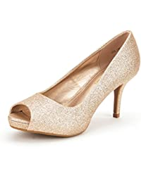 Amazon.com: Gold - Pumps / Shoes: Clothing, Shoes & Jewelry