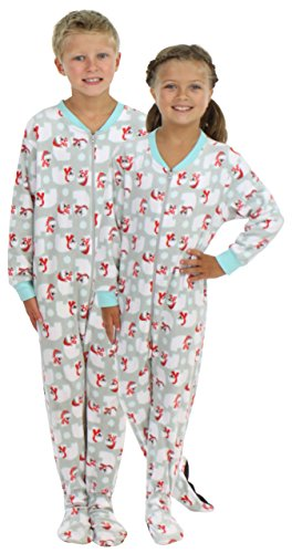 SleepytimePjs Kid's  Fleece Footed Pajama