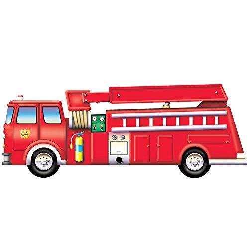 Platapilla PPATP018-A1 Fire Engine Floor Puzzle
