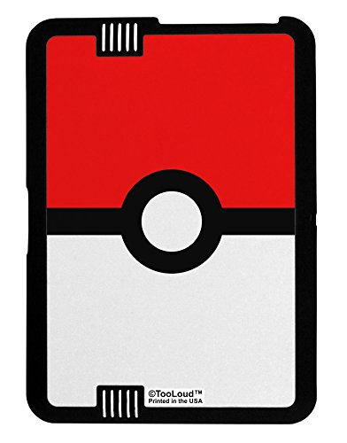 TooLoud Sporty Red and White Circle Kindle Fire HD 7 2nd Gen Cover All Over Print