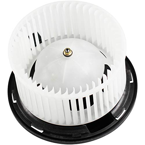 BOXI Heater Blower Motor w/Fan Cage for 2002-2007 Jeep Liberty / 2002-2006 Jeep Wrangler 5066553AA ()