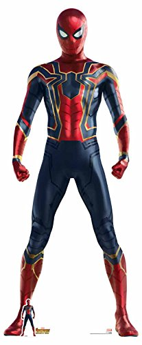 Star Cutouts 71 Official Marvel Character Lifesize Cardboard Cutout Iron Spider (Avengers: Infinity War) Spider-Man/Peter Parker, -
