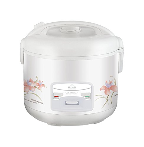 Wee's Beyond 5283-10 Deluxe Electric Rice Cooker, 10 Cup, White (Deluxe 10 Cup Rice Cooker compare prices)