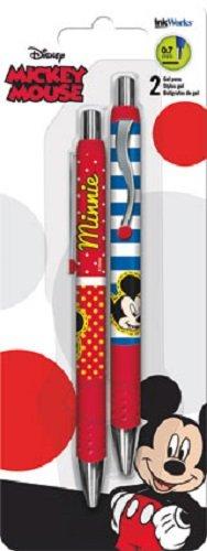 Disney Mickey Mouse & Minnie Mouse Gel Pen Set 2pk