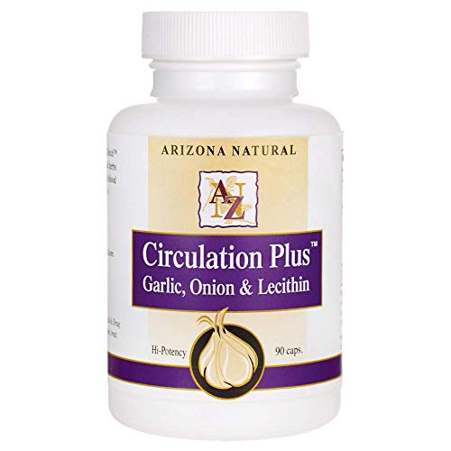 - Arizona Natural Circulation Plus 500 mg Capsules, 90 Count
