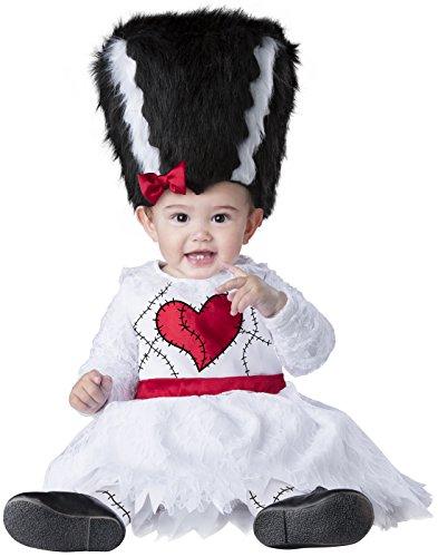 Fun World Baby Girls' Mini Monster Bride, Multi, S