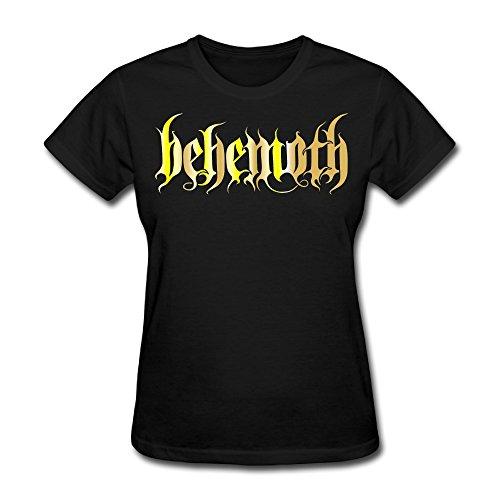 Darius Women's Behemoth Band Logo Gold Style Logo T-shirt