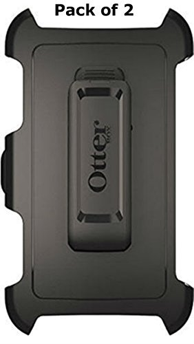 Otterbox Defender Case Belt Clip Holster for Galaxy S5 Black (Pack of 2) by OtterBox