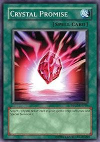 Yu-Gi-Oh! - Crystal Promise (DP07-EN016) - Duelist Pack 7 Jesse Anderson - 1st Edition - Common