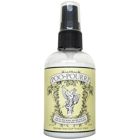 Poo-Pourri Before-You-Go Toilet Spray 2-Ounce Bottle, Original - DISCONTINUED