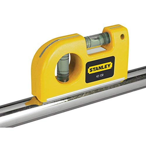 Stanley 0-42-130 Pocket Level magnetic horizontal/vertical, Yellow by Stanley (Image #4)
