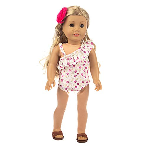 Denzar Baby Alive Doll Clothes,Cute One-Piece Swimsuit Clothes Girl Toy for 18 inch Doll Accessory Girl's Toy -