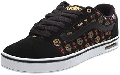 0fe9e98302 Vans Tekskool (Scotty Cranmer) Black Red Gold Shoe F4E2EU (UK12 ...
