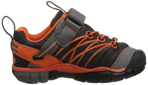 Keen Chandler CNX - Zapatos de Low Rise Senderismo Unisex Niños Multicolor - Mehrfarbig (Gargoyle/Koi)