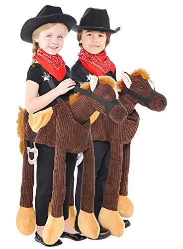 HalloCostume Child Pony Ride-On Costume Halloween Costumes for Boys, Kids -