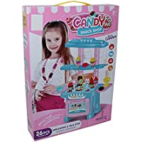 Candy Snack Shop Toy with Accessories for Girls