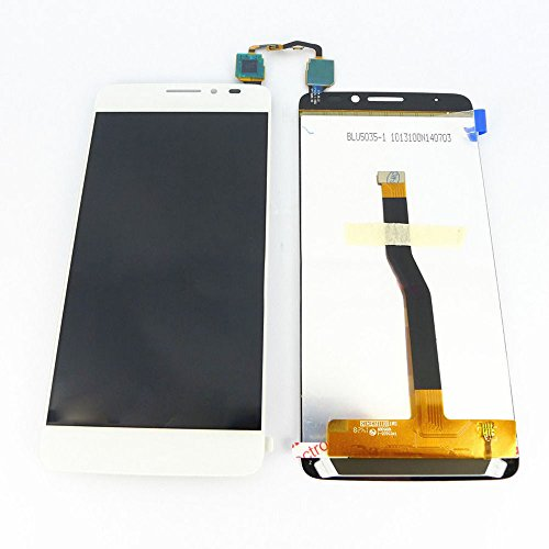 White LCD Display+Touch Digitizer Assembly For ALCATEL ONE TOUCH 6043D IDOL X+