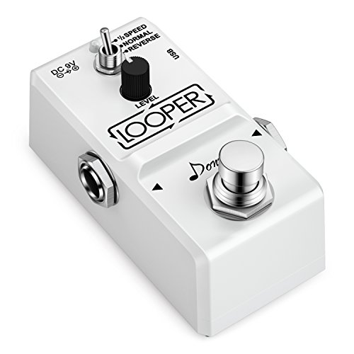 Donner Tiny Looper Guitar Effect Pedal 10 minutes of Looping 3 Modes ()